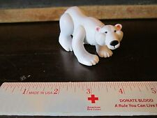 Fisher Price Little People Zoo Animal Families White Polar Bear standing NEW