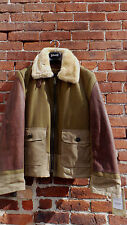 NEW SCHOTT NYC 797S JACKET MADE IN USA SHEARLING AND MORE NWT MED