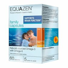 Eye Q Equazen Family x 60 Capsules, supports brain function