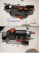 Válvula De Control Hidráulico De Mano 1 x Lt 80 1x doble efecto