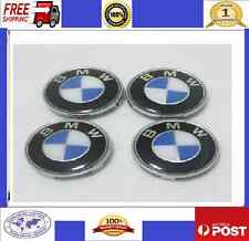 Alloy Wheel Caps hub Badges Centres 68mm fits BMW E36 E46 E39 E60 NEW CHROME