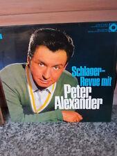 Schlager-Revue mit Peter Alexander, eine Schallplatte