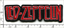 20 Pcs Embroidered Iron on patches LED-ZEPPELIN Rock Band 12x3.6cm AP056fA