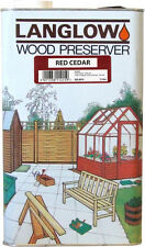 Langlow Wood Preserver 5L Red Cedar