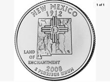 2008-D New Mexico State Quarter Uncirculated BU