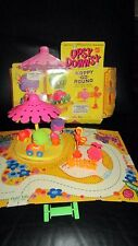 Complete Vintage Upsy Downsy Large Merry Happy Go Round Set  Rare Foozie Woozie