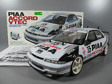 Used Vintage Tamiya R/C 1/10 PIAA Honda Accord VTEC FF01 # 58186 FWD Racing Car