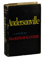 ANDERSONVILLE by MacKinlay Kantor ~ SIGNED First Edition 1955 ~ 1st Pulitzer
