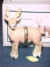 Deer PHB Porcelain Hinged Box by Midwest of Cannon Falls