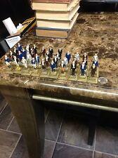 """1960s Marx Toys Miniature President Figures 2-3/4""""  Washington to Johnson Set"""
