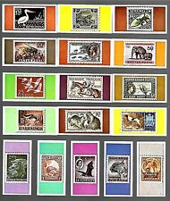 CIGARETTE/TRADE/CARDS. Anglo American Gum. ZOO STAMPS OF THE WORLD. (1966).(Set)