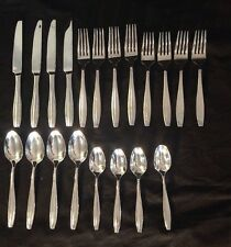 Mikasa Ari Flatware 18/10 Stainless Steel 20 Pcs - Service For 4 Nice Silverware