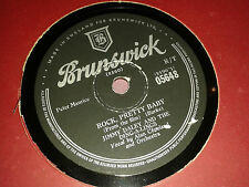 JIMMY DALEY & The Ding-A-Lings :  ROCK, PRETTY BABY.    UK 78rpm (1957)