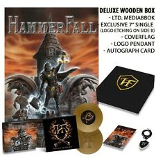 Hammerfall - Built To Last  LTD Deluxe Wooden Box (Only 1000 made) OOP - Sealed