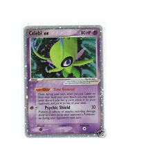 CELEBI EX 17/17 Ultra Rare Star Holo Foil POP 2 Promo Pokemon Card