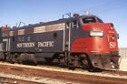 Southern Pacific EMD FP7A Engine #6448 - Duplicate 35mm Railroad Slide