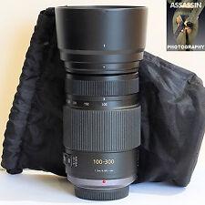 Panasonic H-FS100300 100-300mm f/4.0-5.6 Zoom Lens Micro 4/3rds