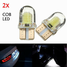 2X T10 W5W COB 8 SMD LED coche Blanco Super Bright Turn Side License Bombilla