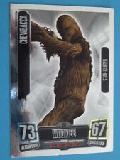 Force Attax Clone Wars Serie 2 (2011), Chewbacca (206), Star-Karten
