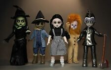 Living Dead Dolls Lost in OZ Mezco Toyz Wizard of oz Set of 5 Dorothy Witch NEW