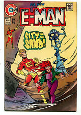 E-Man #4 FN/VF All New City In The Sand    Charlton Comics CBX1E
