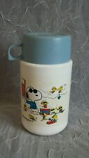 Vintage Snoopy Joe Cool With Woodstock Thermos.  L