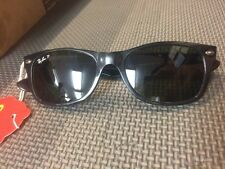 "Rayban RB2131 ""New Wayfarer"" 901/58 52-18 3P Polarized Made in Italy preowned"