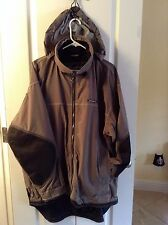 O'Neill SNO WEAR GEAR RAIN WIND RESISTANT LONG lined Hooded SKI coat jacket  L