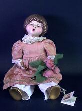 THUN BOZEN ITALY  - Lene Thun Puppe im Brokatkleid - 44cm