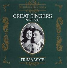 Great Singers 1909-1938, New Music
