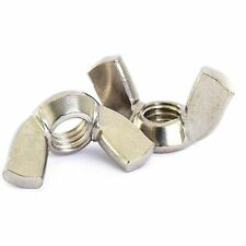 M6 STAINLESS WING NUTS 10 + 1 FREE