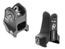 Daniel Defense Fixed Front and Rear Sights Black - 19-088-09116