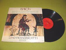 Bach - Partita No. 2 & 3 For Unaccompanied Violin - Zino Francescatti - STEREO