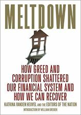 Meltdown: How Greed and Corruption Shattered Our Financial System and How We Can