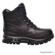 NIKE AIR MAX GOADOME 6'' ACG WATERPROOF BOOTS MENS SIZE US 10.5 BLACK 806902-001