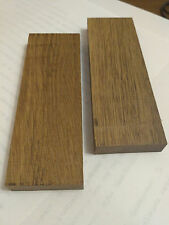 Brown bog oak (morta, wood) blanks for knife handle cover plates1270-2840