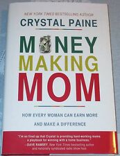 New MONEY MAKING MOM Book Crystal Paine WORK AT HOME Business CHRISTIAN SAVING $