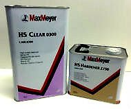 Max Meyer 0300 2K Clear Coat Lacquer 5L + RAPID Activator 2730 2.5L