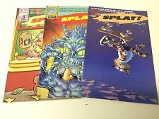 SPLAT #1-3 (MAD DOG GRAPHICS/1987/ANTHOLOGY/1216545) COMPLETE SET LOT OF 3