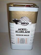 2K MS Clearcoat Lacquer  5 litre  Scratch Resistant  High Quality Airo Clear