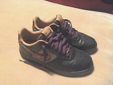 Nike Air Lunar Forza 1 CITY DARK GREY-Brown 602682 001 Taglia 6 indossato a malapena