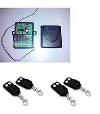 RICEVITORE RADIO RICEVENTE 433MHZ COMPATIBILE FAAC TML433SLR E 4 RADIOCOMANDI