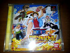 ONE PIECE GRAND BATTLE! SONY PLAYSTATION VIDEOGAMES PS JAP JAPANESE PSX PS1