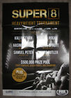 SUPER 8 HEAVYWEIGHT TOURNAMENT - EIGHT FIGHTERS, SEVEN FIGHTS - BOXING POSTER