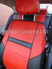 i - TO FIT A CITROEN BERLINGO MULTISPACE CAR,S/ COVERS,PRESTIGE PVC,RED / black