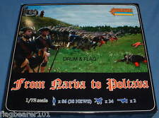 STRELETS 904 - FROM NARVA TO POLTAVA. SWEDISH GNW TROOPS. 1/72 SCALE PLASTIC