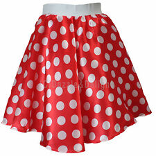 ROCK AND ROLL SKIRT POLKA DOT DRESS 50'S FANCY DRESS JIVE ROCK N ROLL GREASE