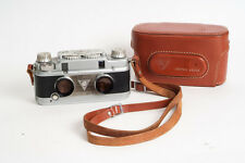 TDC Stereo Vivid camera EXCELLENT WITH LEATHER CASE