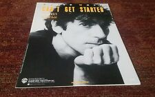 Can't get started by Peter Wolf piano vocal guitar sheet music NEW