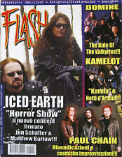 FLASH 149 2001 Iced Earth Paul Chain Domine Kamelot Timo Kotipelto Kelly Keagy